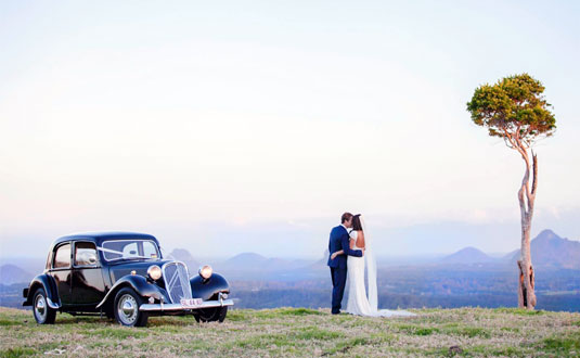 Wedding catering in the Sunshine Coast hinterland