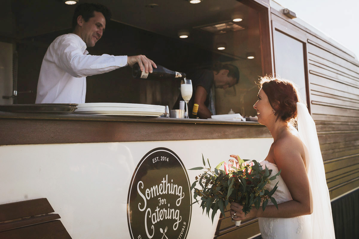 Mobile Bar At Sunshine Coast Wedding