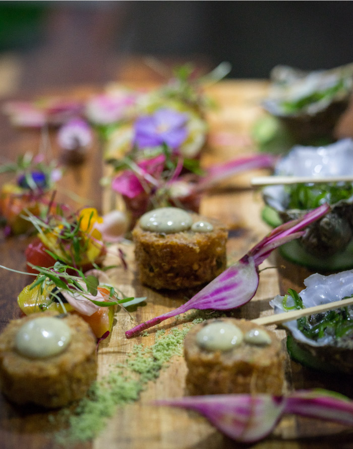 Something for Catering's modern canapes
